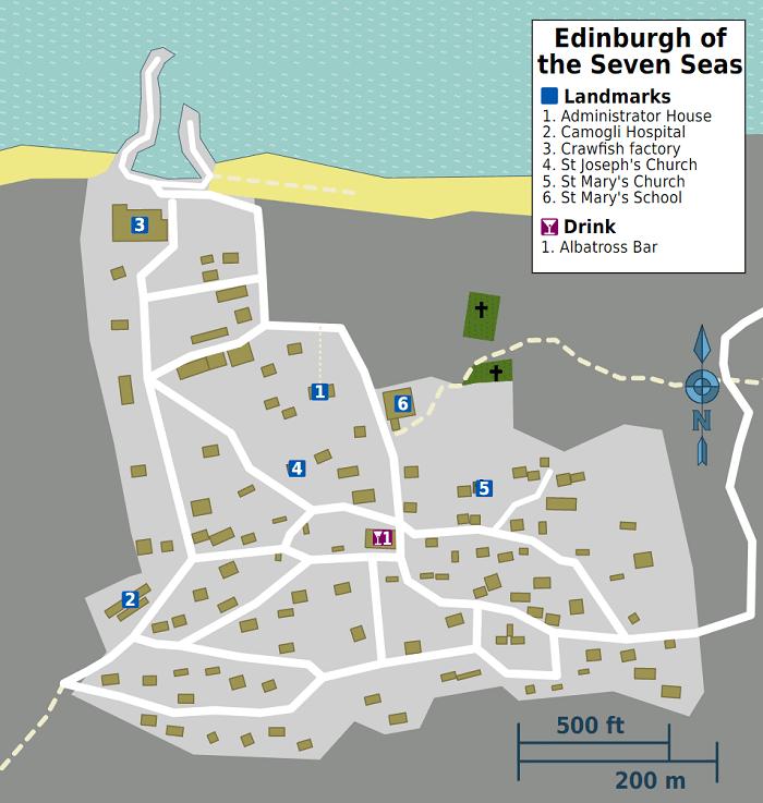 Edinburgh of the Seven Seas - Tristan da Cunha