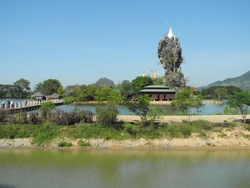 Pagoda Kyauk Kalat