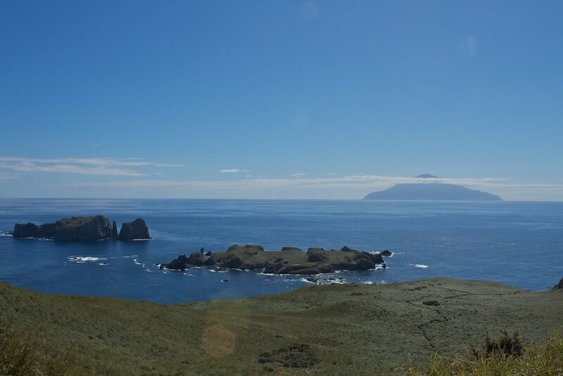 Arrivare a Tristan da Cunha