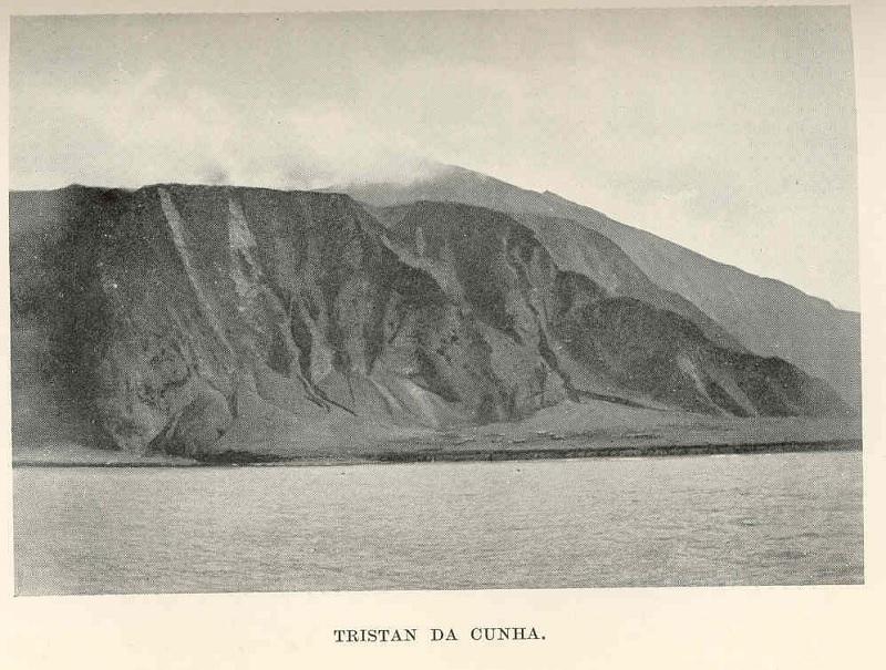 Vecchia foto di Tristan da Cunha