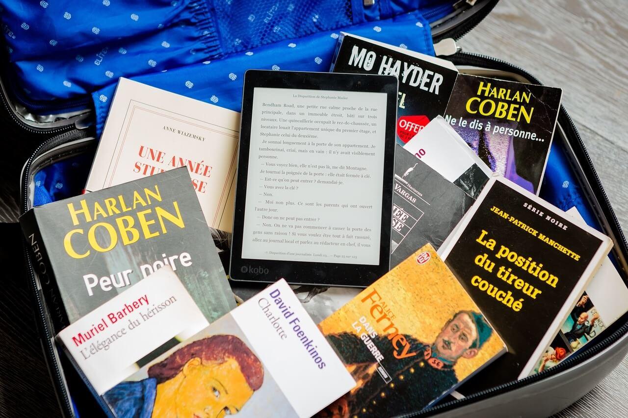 Libri e ebook reader in valigia: pronti per il viaggio?