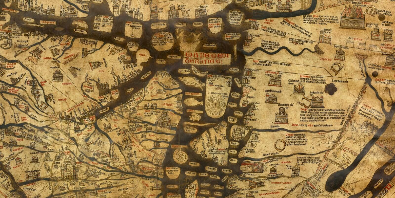 Mappa Mundi di Hereford
