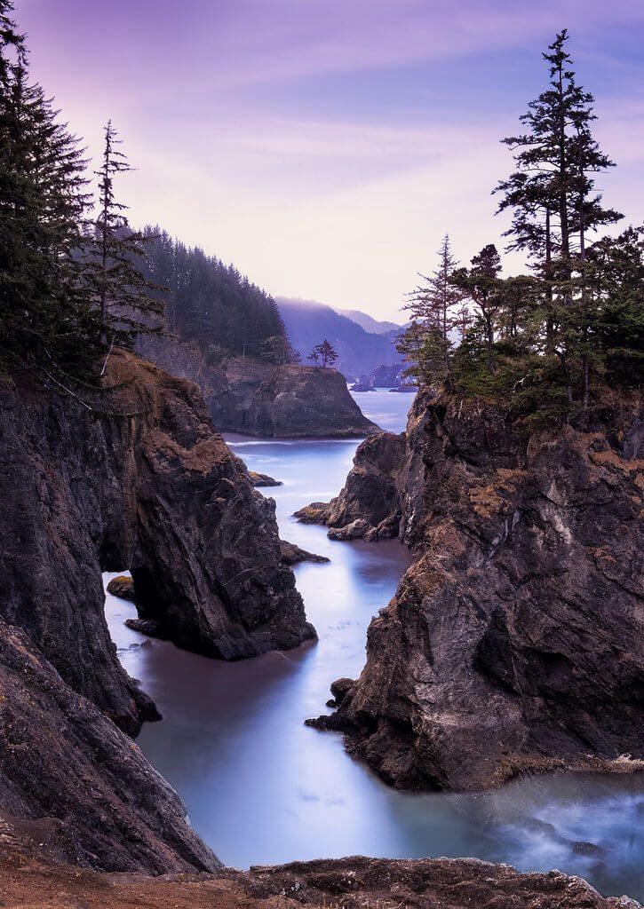 Samuel H. Boardman State Scenic Corridor, costa Oregon