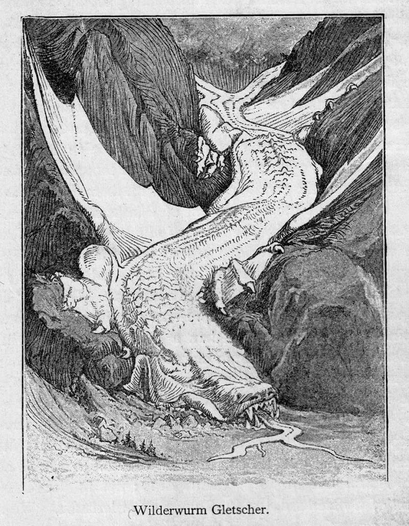 """H.G. Willink """"Wilderwurm Gletscher"""""""