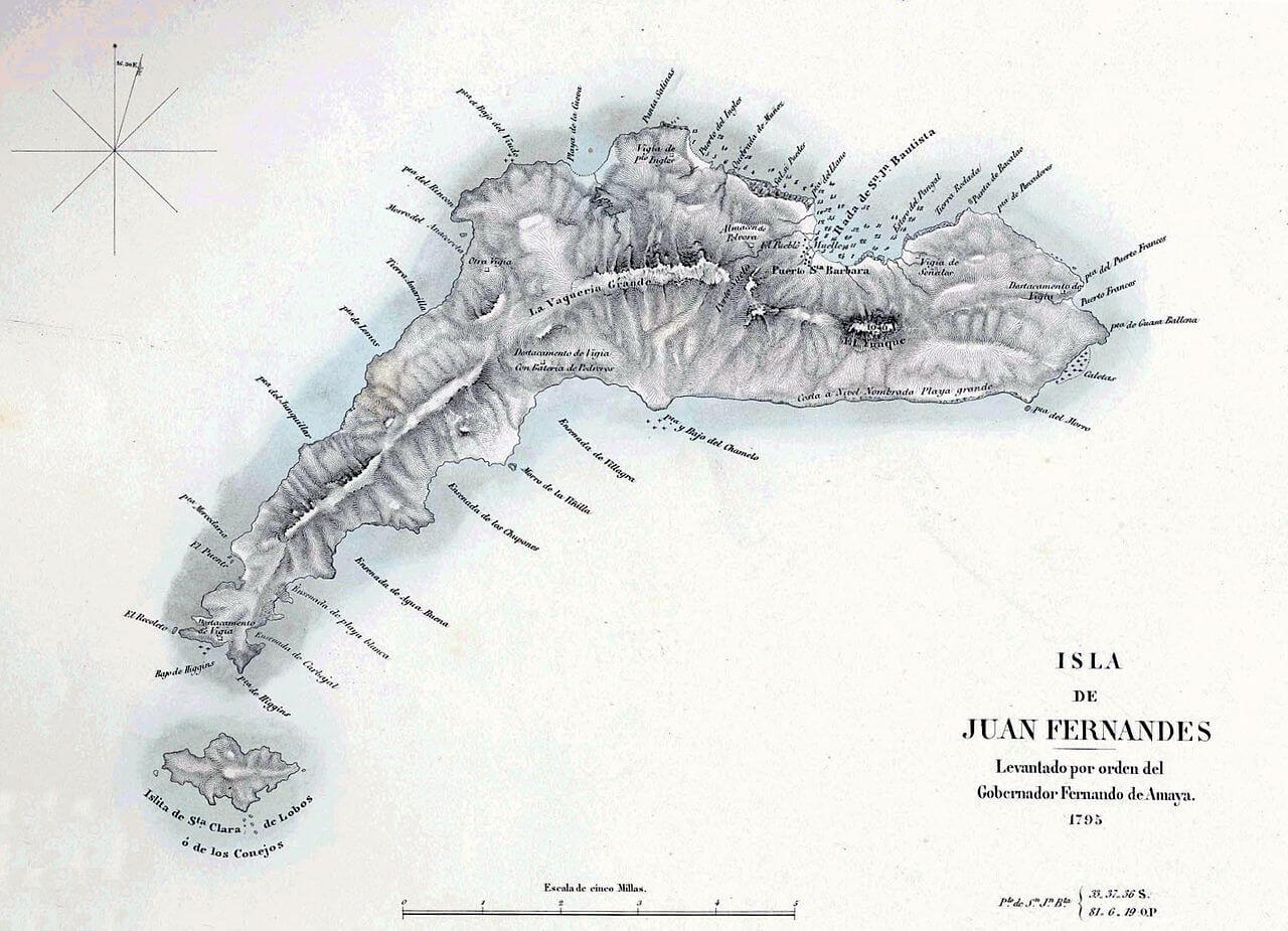 Alexander Selkirk e le Isole Juan Fernandez