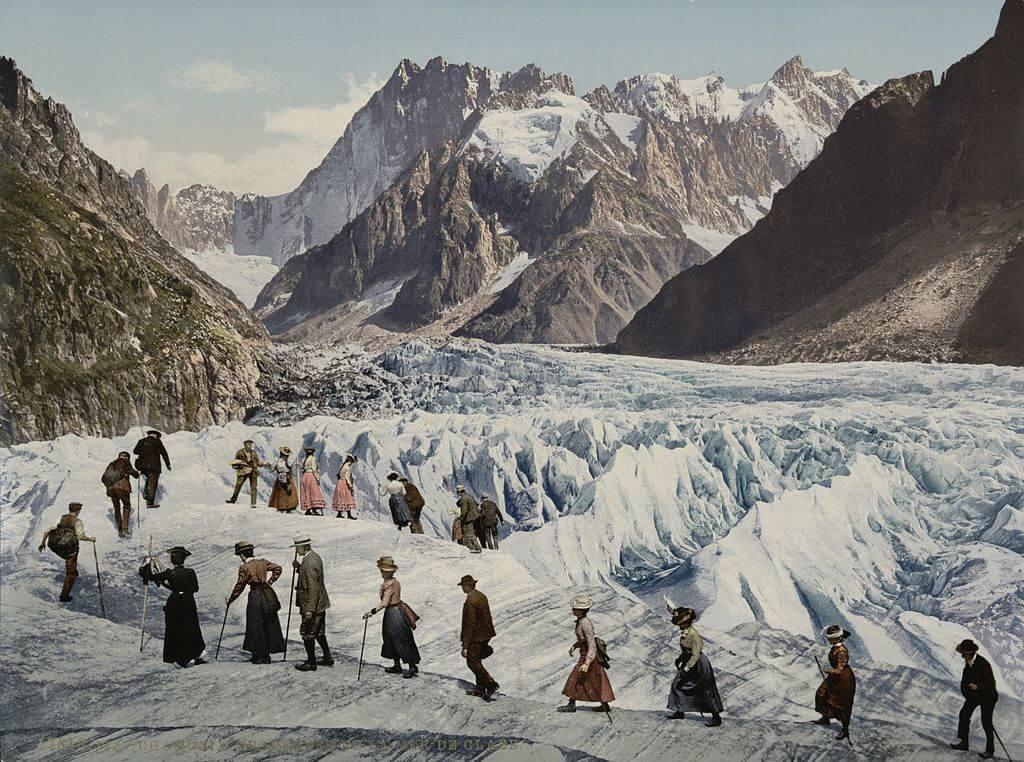 Mer de Glace 1902 - 1904