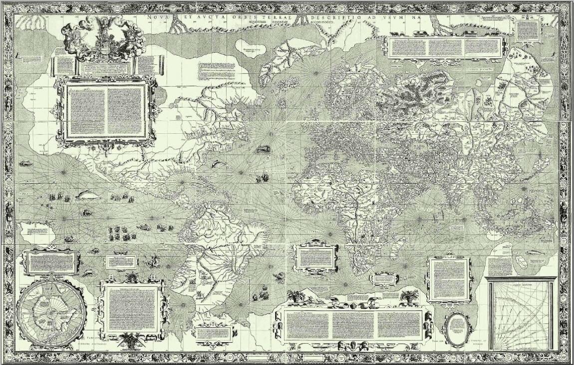 Planisfero di Mercatore