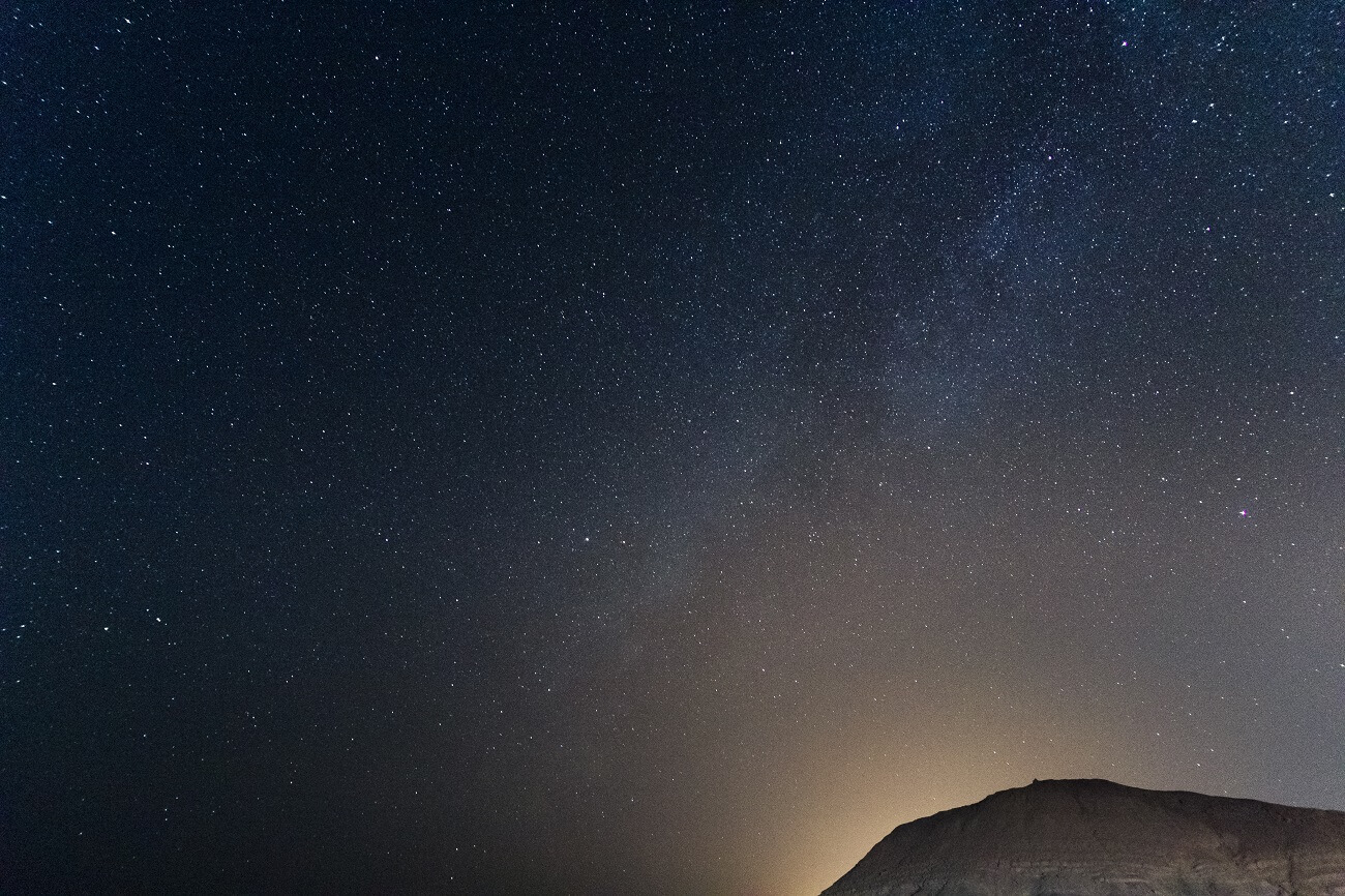 Cratere Ramon, meta del turismo astronomico in Israele