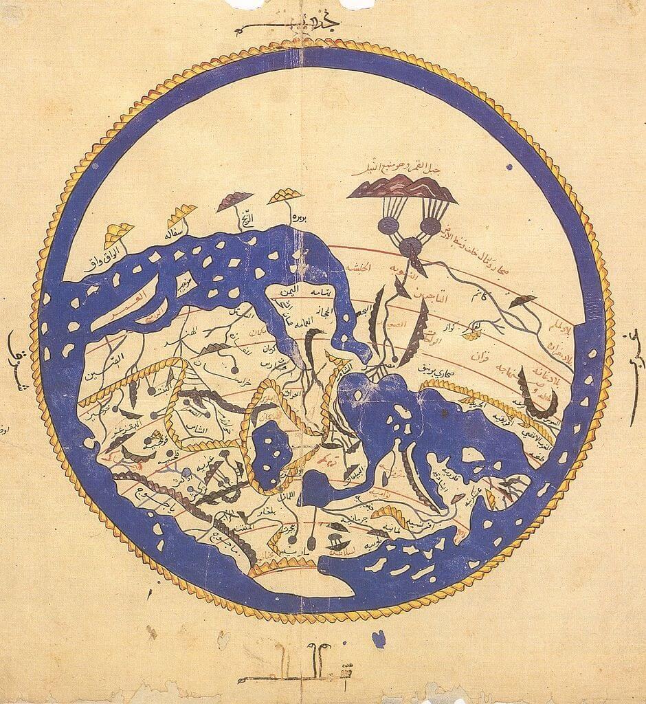 Mappa del mondo di Al Idrisi
