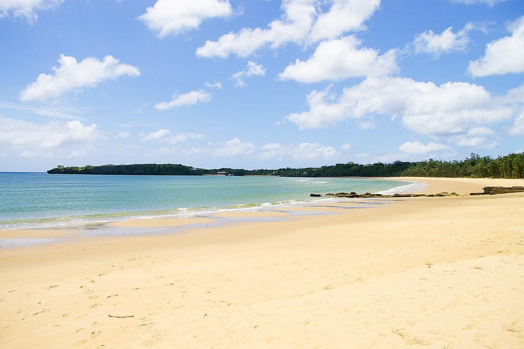 Spiaggia di Iriomote Island, nel Parco nazionale di Iriomote-Ishigaki. Dal 2018 il parco è un International Dark Sky Park