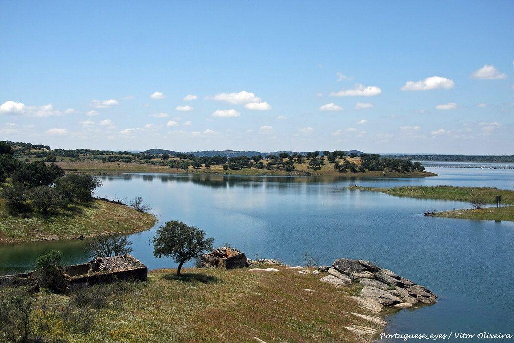 Lago Alqueva, Portogallo