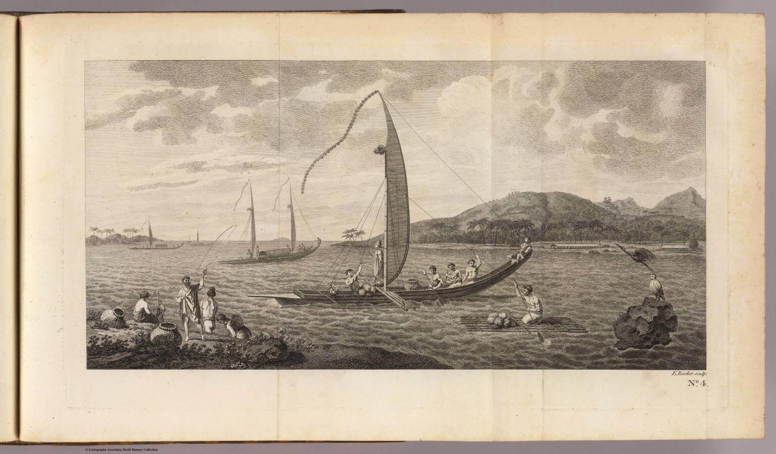 Rapa Iti, l'arrivo delle navi Otaheite