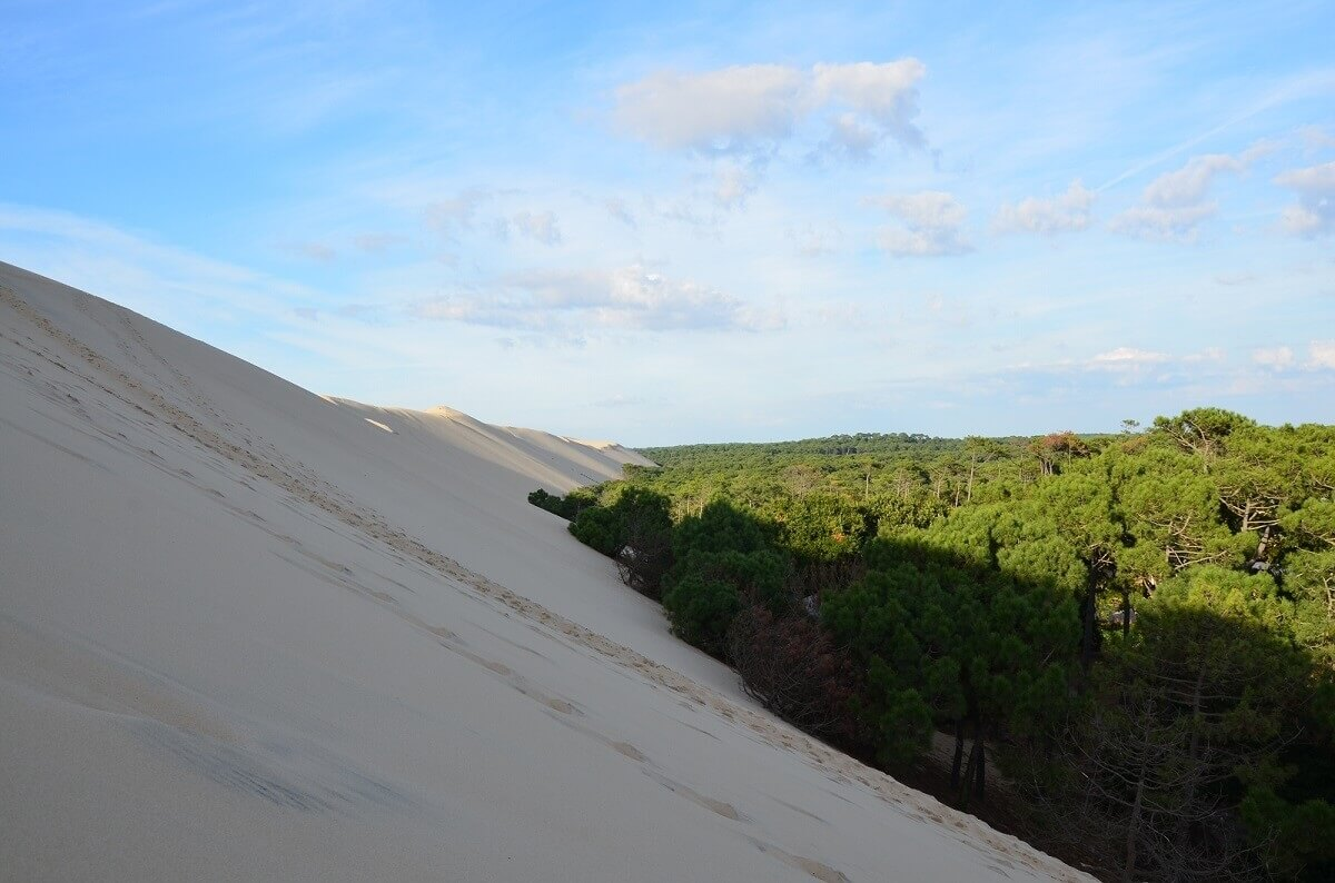 Duna di Pilat, un gigante di sabbia da scalare