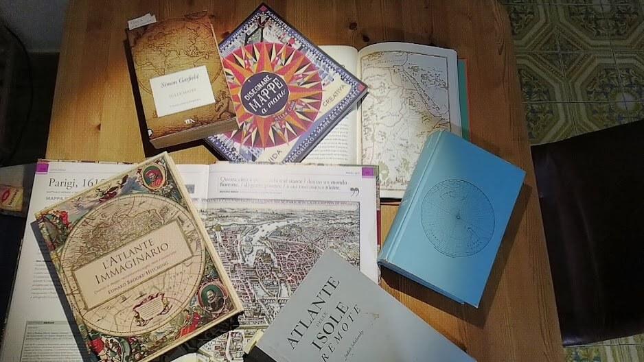 Libri sulle mappe