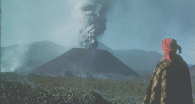 Vulcano Paricutin, in Messico