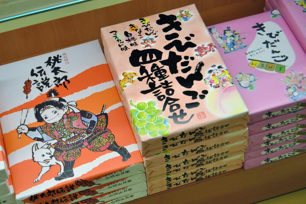 Confezioni di Kibi Dango