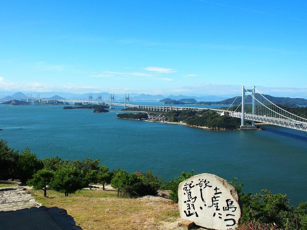 Il grande ponte di Seto (Seto Ōhashi)