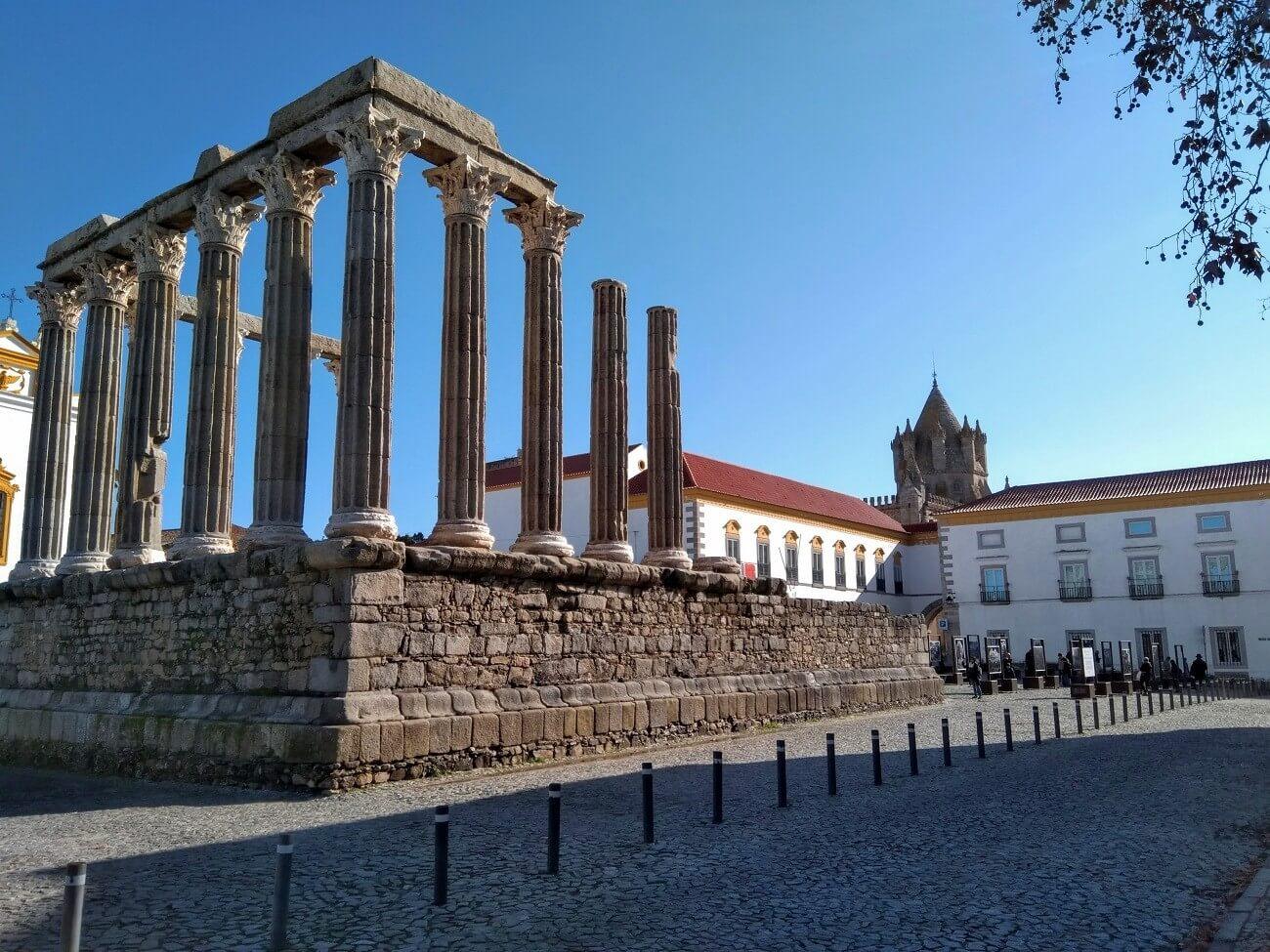 Il tempio romano di Evora (Tempio di Diana)