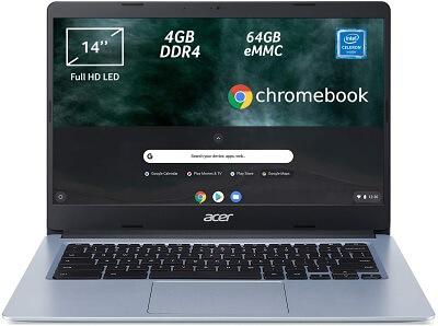Acer Chromebook 314, economico per viaggiare