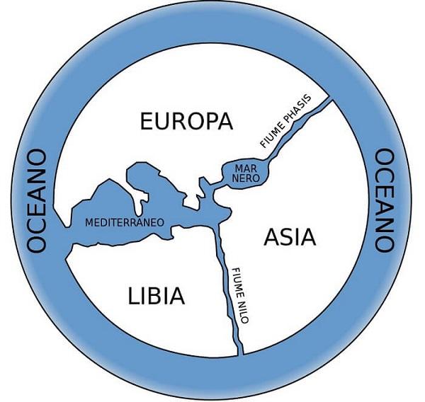 Mappa di Anassimandro