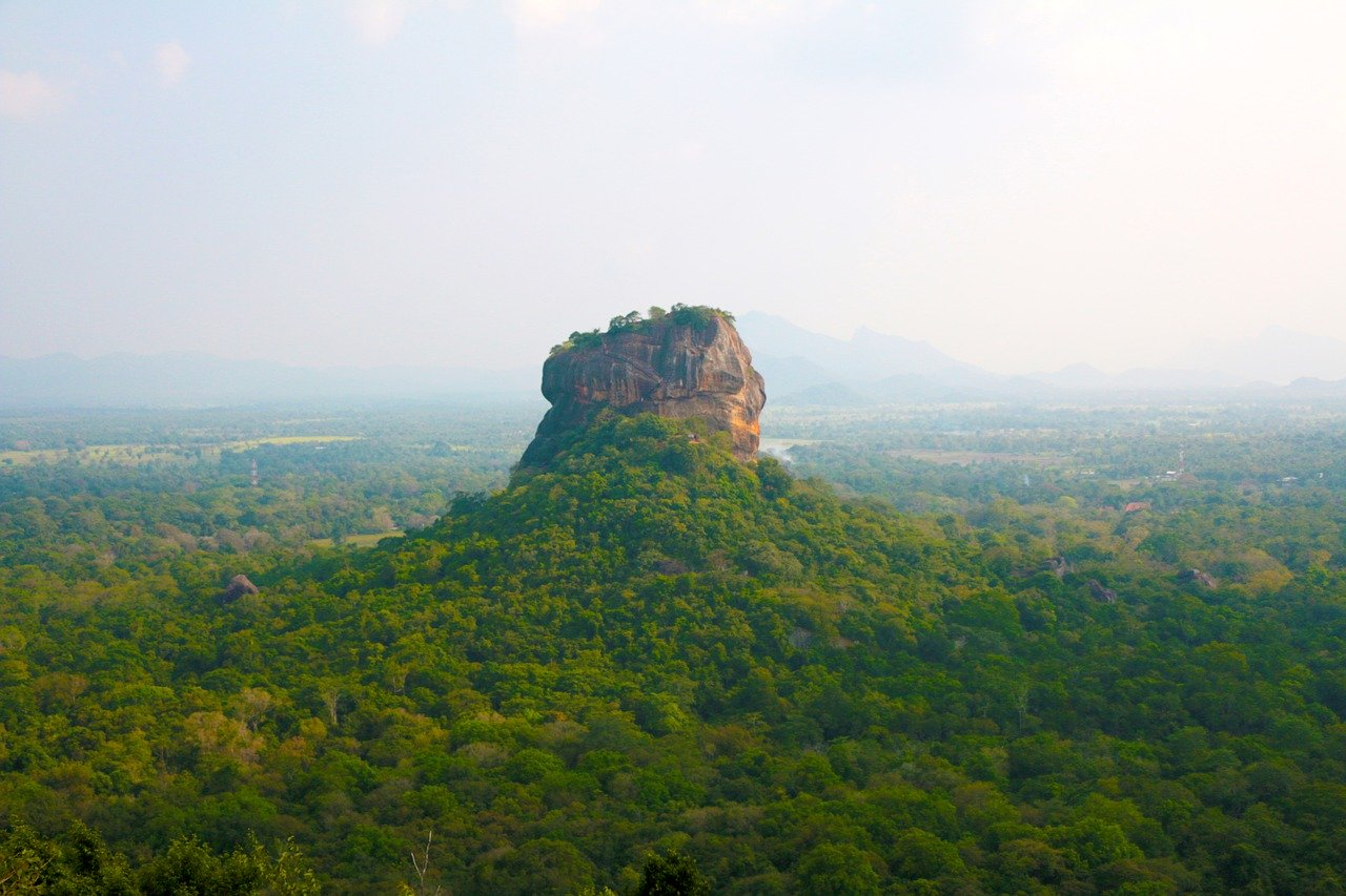 Sigiriya, Sri Lanka centrale