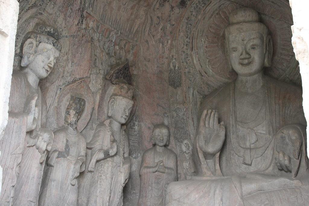 Buddha, grotte Binyang