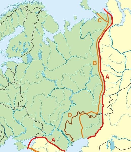 Fiume Elba Cartina Europa.Monti Urali Russia Viaggio Ai Confini Dell Europa Terra Incognita