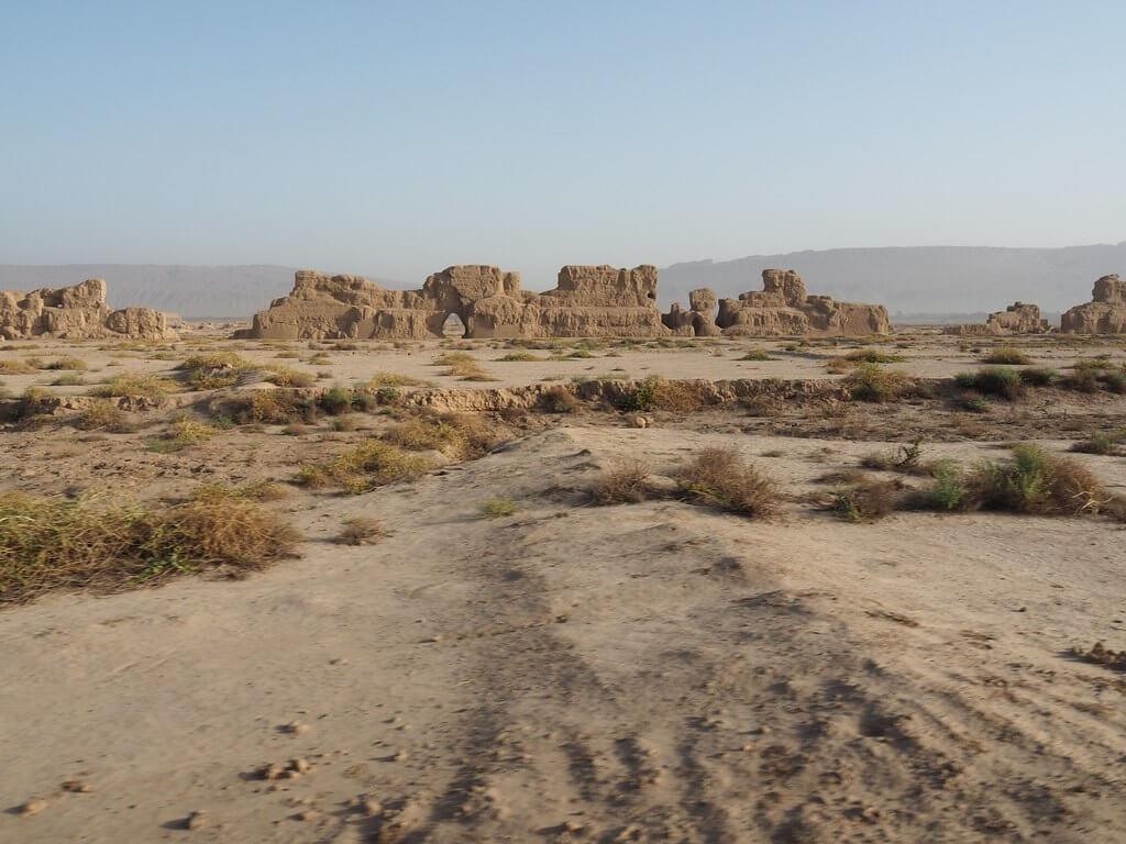 Rovine di Gaochang, città che si sviluppò lungo la via della seta