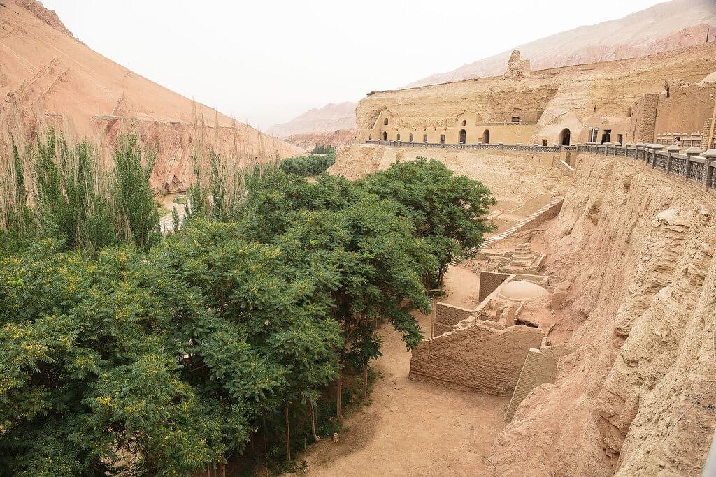 Le grotte dei mille Buddha di Bezeklik
