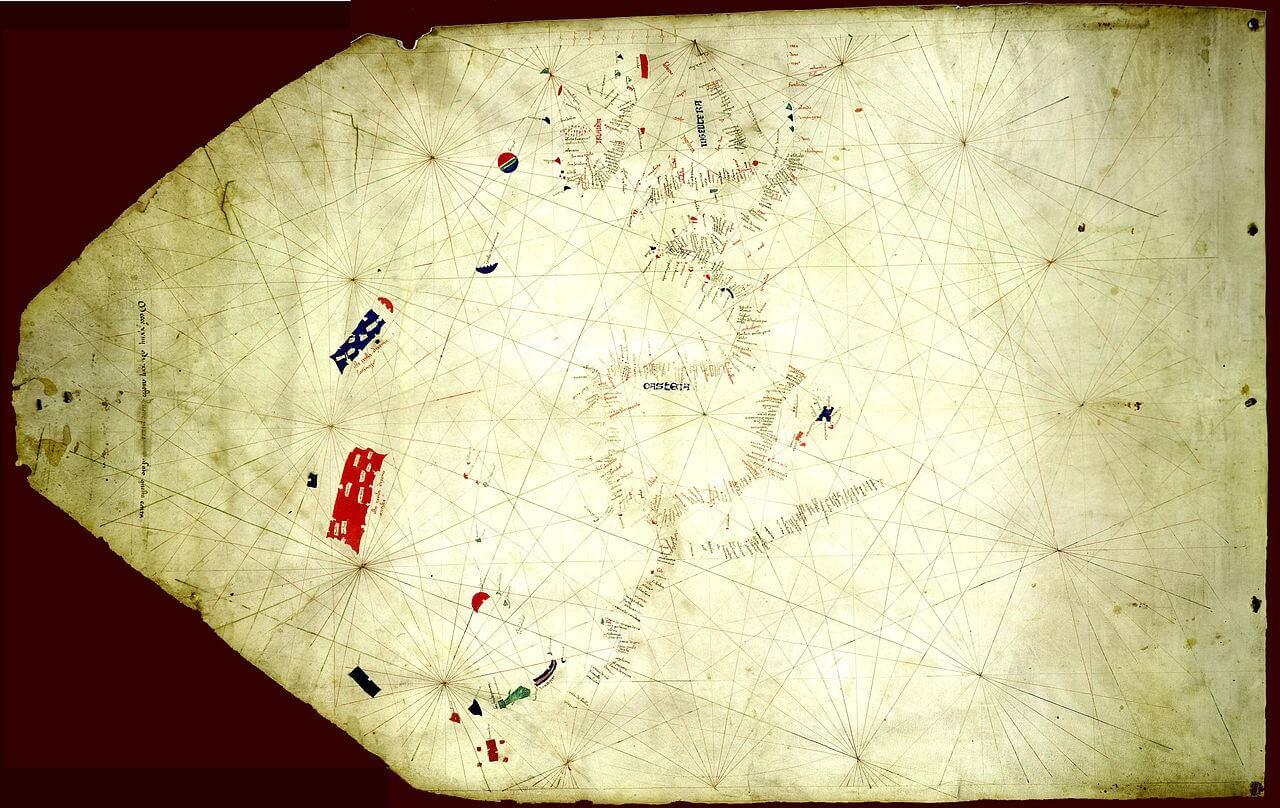 Mappa di Pizzigano