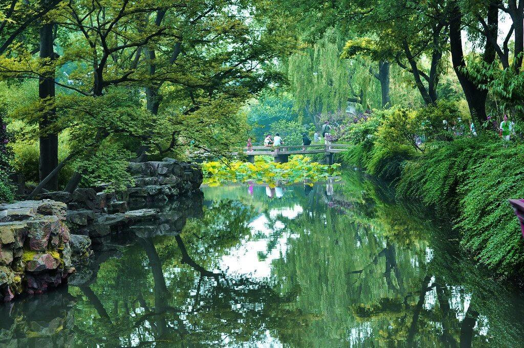 I giardini classici cinesi sono la principale attrazione di Suzhou