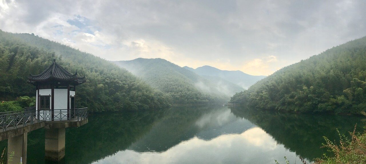 Nanshan Zhuhai e le sue colline ricoperte di bambù