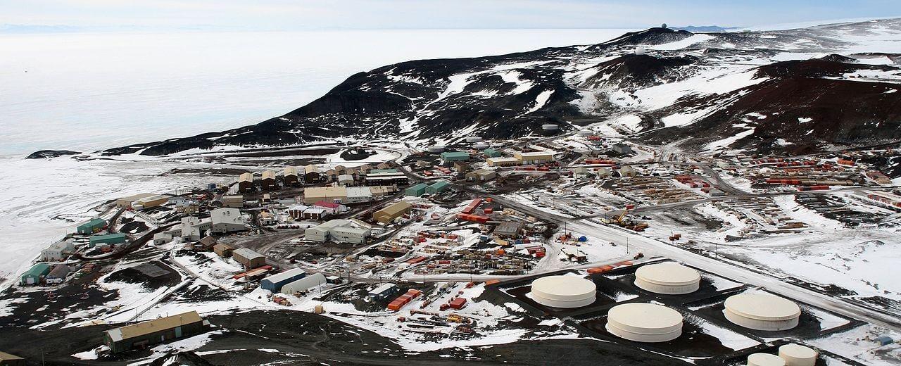 Base McMurdo, intitolata al tenente Archibald McMurdo della HMS Terror