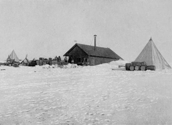 Framheim, il campo base dell'esploratore Roald Amundsen