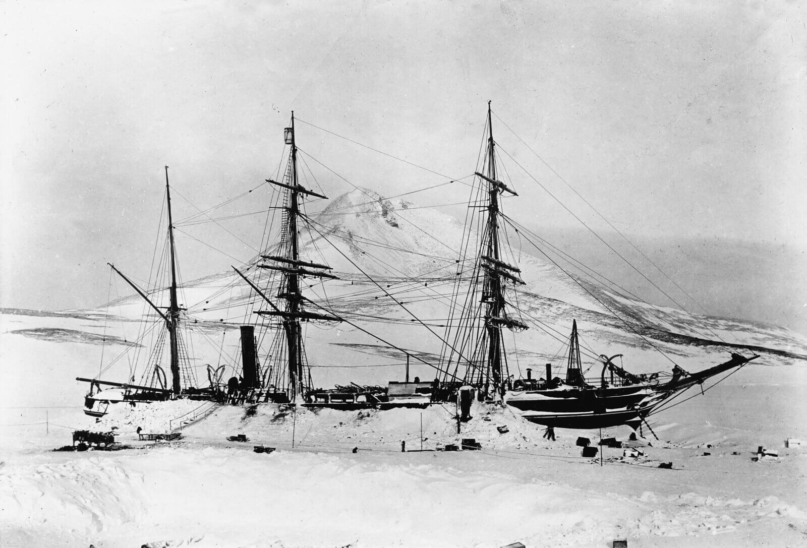 La nave della spedizione antartica Discovery, 1901-1904