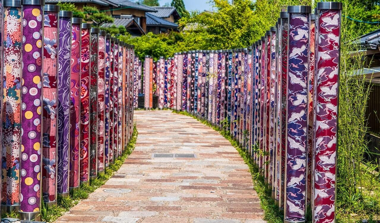 La foresta di Kimono, Kyoto