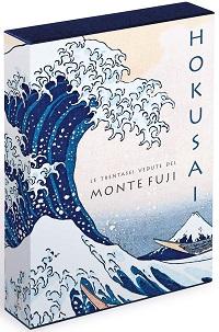 Un volumetto con le 36 vedute del monte Fuji, di Hokusai