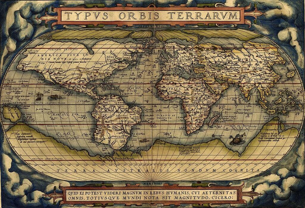 Mappa di Ortelius