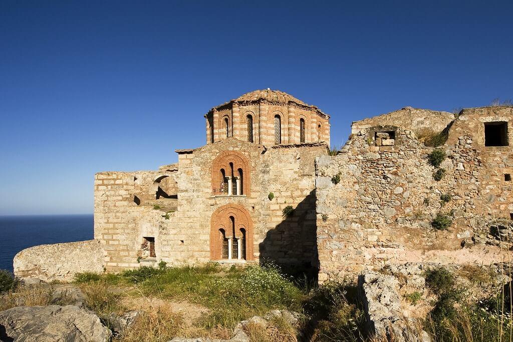 La chiesa di Agia Sofia di Monemvasia