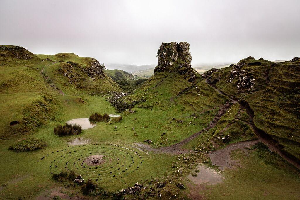 The Fairy Glen, una piccola valle fatata sull'isola di Skye