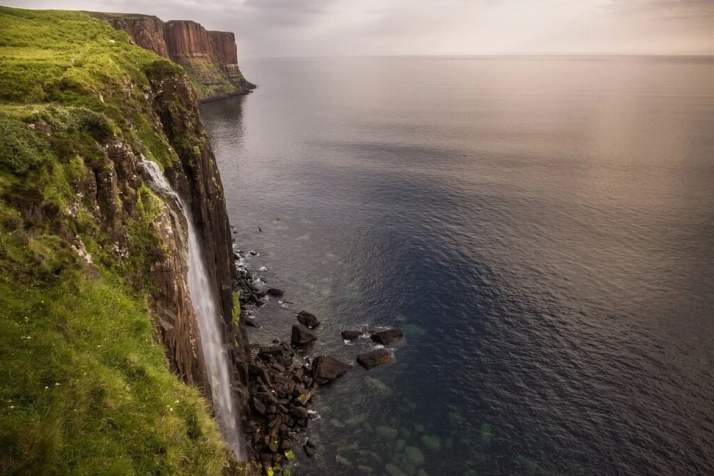 Mealt Falls e Kilt Rock