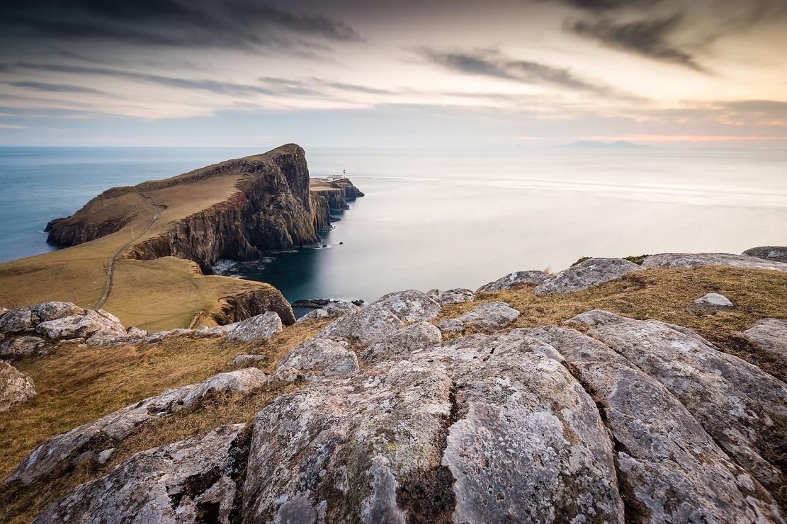 Il faro di Neist Point, all'estremo ovest di Skye