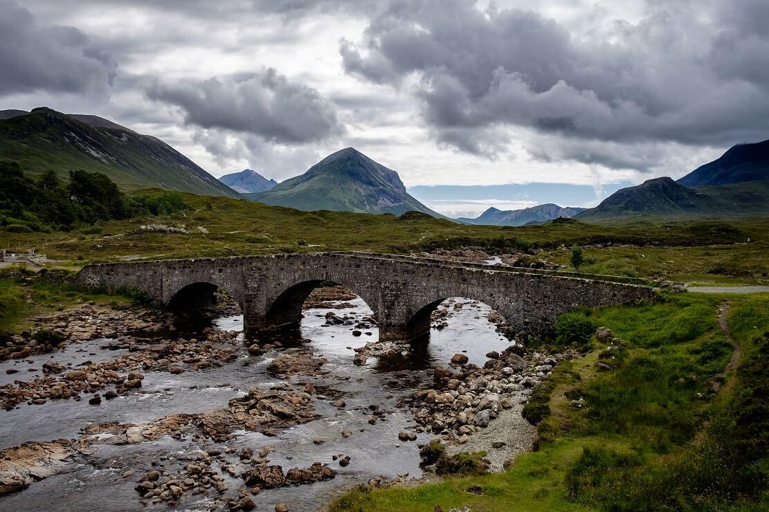 Sligachan bridge, isola di Skye