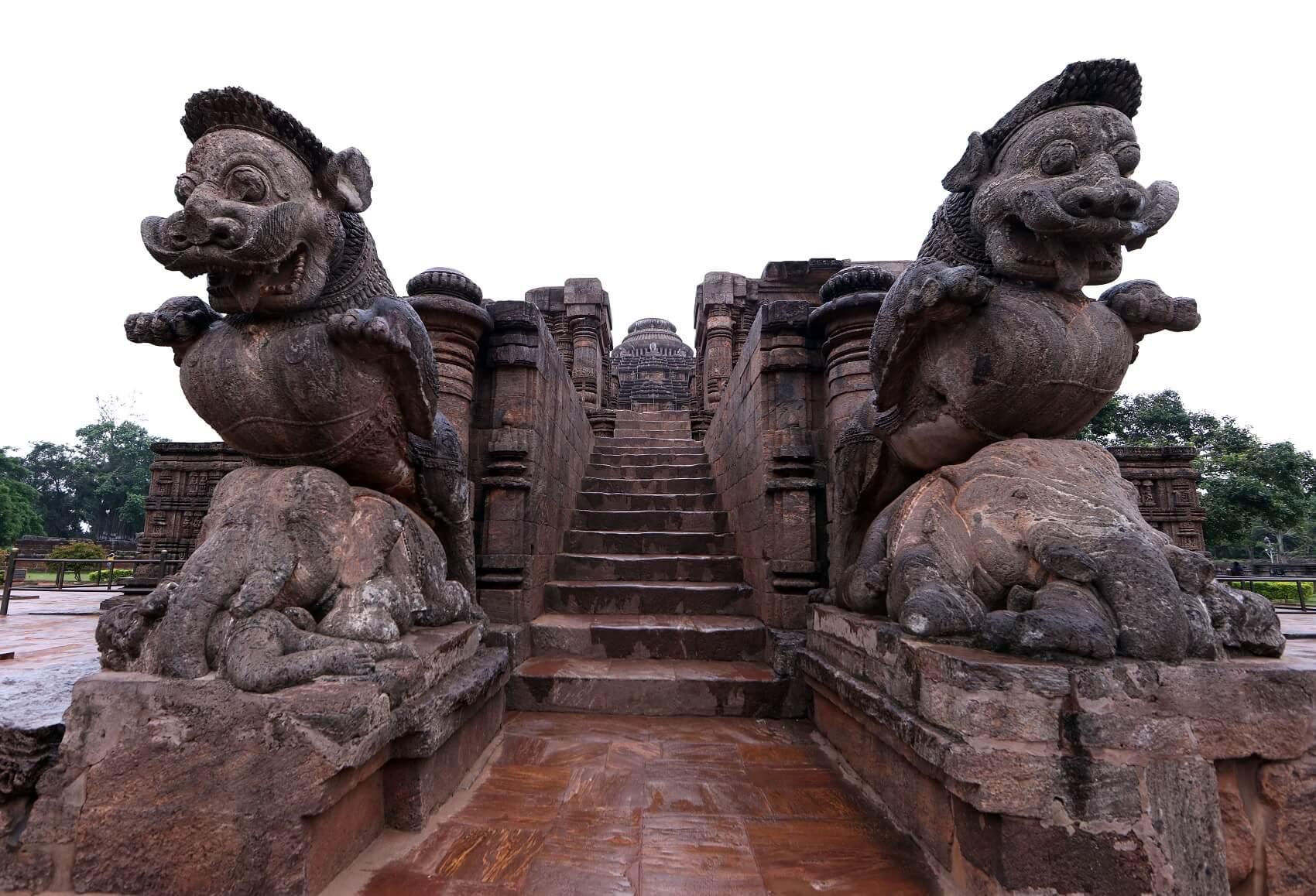 Il Tempio del Sole di Konarak, India