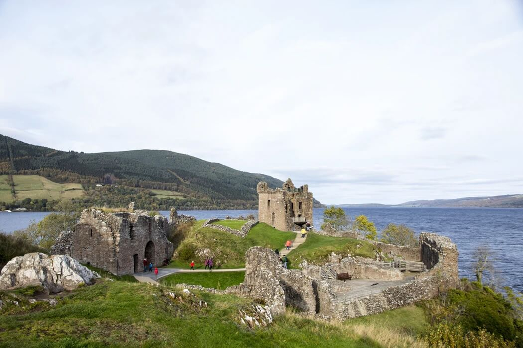 Il Castello di Urquhart, in Scozia