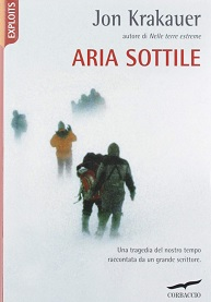 Aria sottile, di Jon Krakauer, libro sul monte Everest