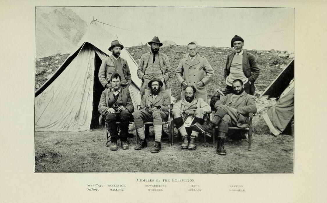 George Mallory, spedizione EVerest 1921