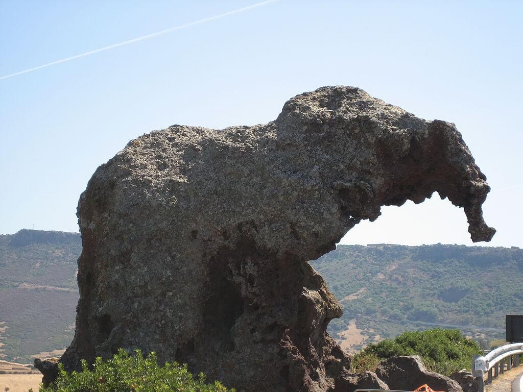 Roccia dell'Elefante, una delle formazioni rocciose più particolari della Sardegna