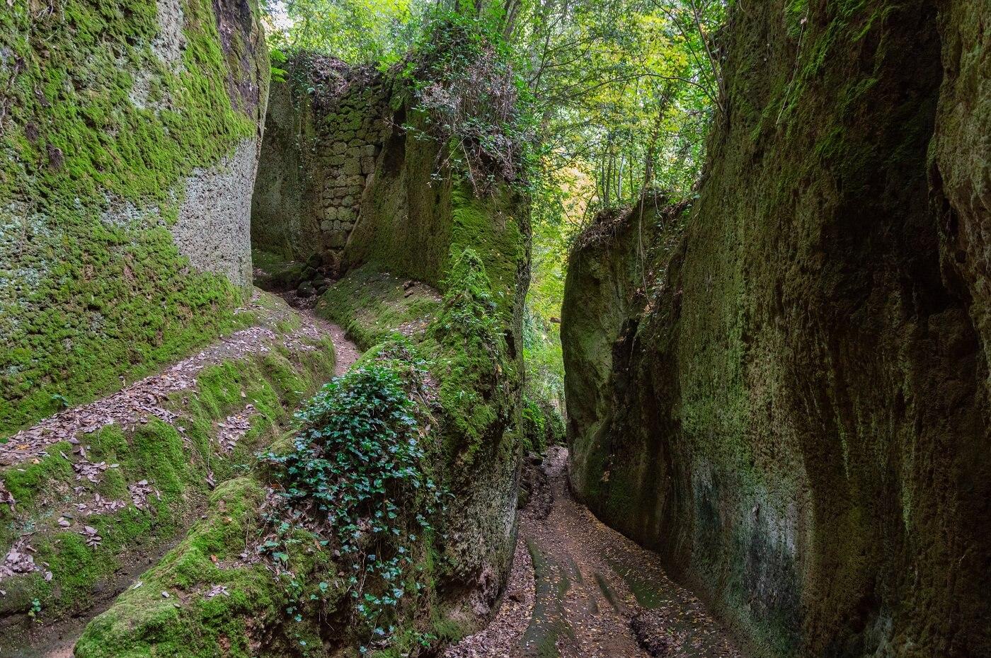La via cava etrusca di San Rocco, Sorano