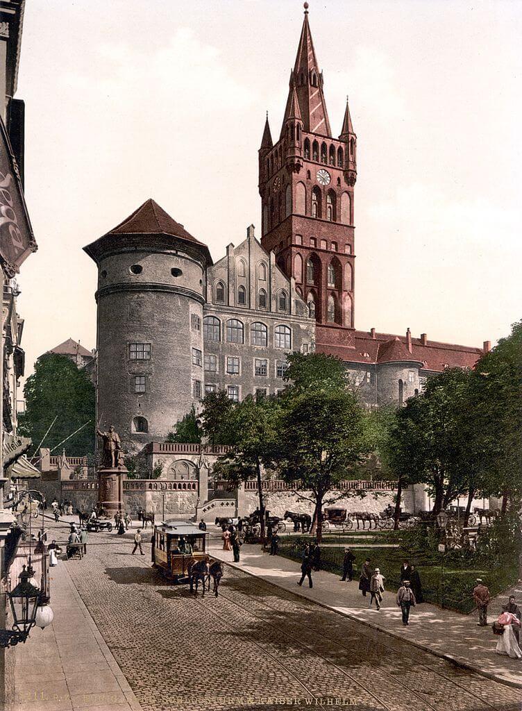 Il Castello di Königsberg (Kaliningrad) prima dei bombardamenti